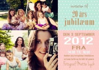 Mette Lyck 20 års Jubilæum